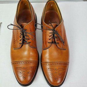 Allen Edmonds Sanford Brown Walnut Leather Cap Toe